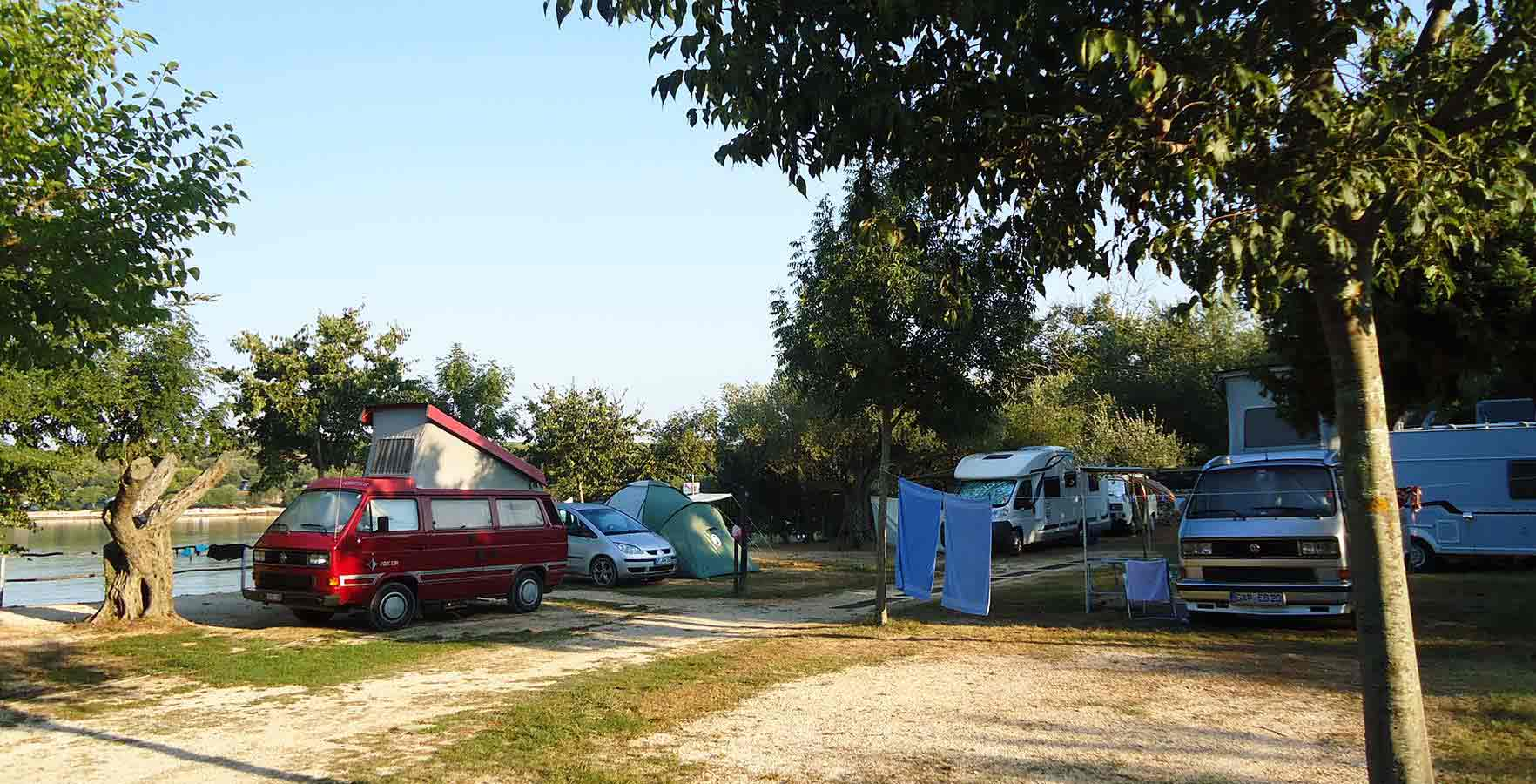 Camping Mon Paradis - Pitches